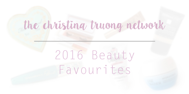 Christina Truong beauty products discovered and became a favourite in 2016