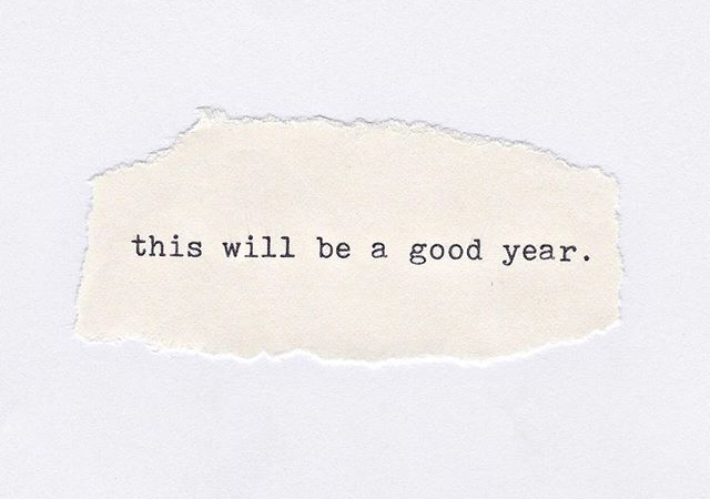 Positive Quote This will be a good year