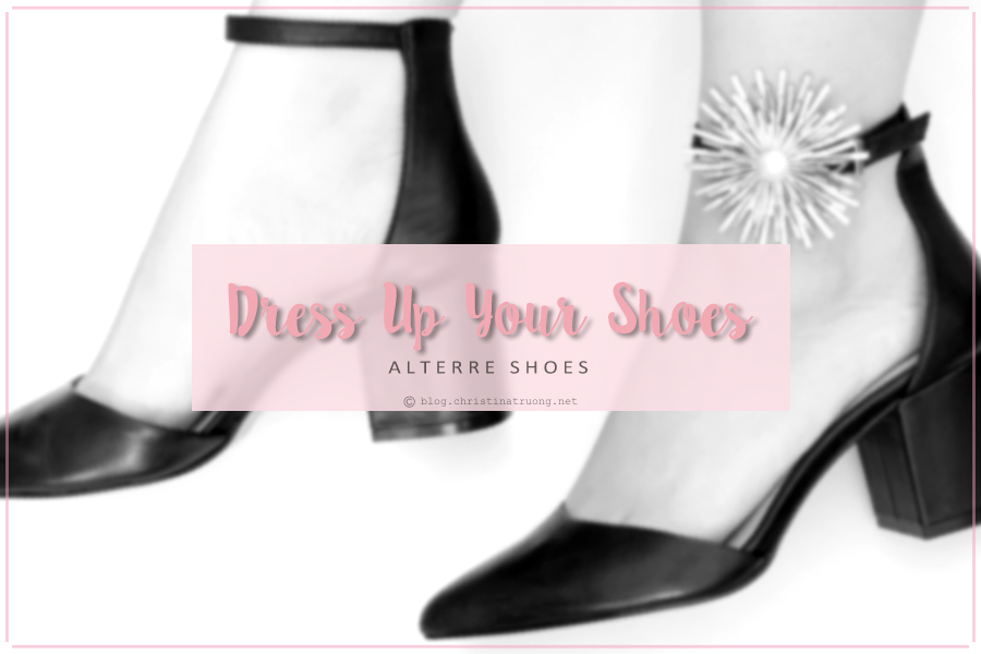 Dress Up Your Shoes this holiday season with ALTERRE NY Interchangeable Shoes Accessories