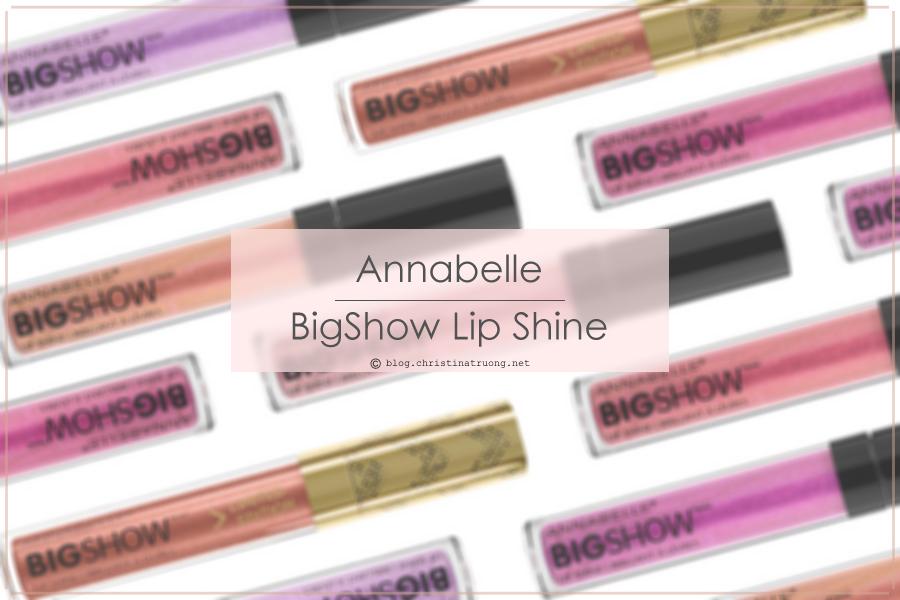 Annabelle Cosmetics BigShow Lip Shine