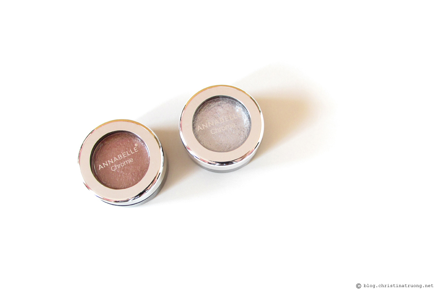 Annabelle Cosmetics Chrome Single Eyeshadow Review and Swatch
