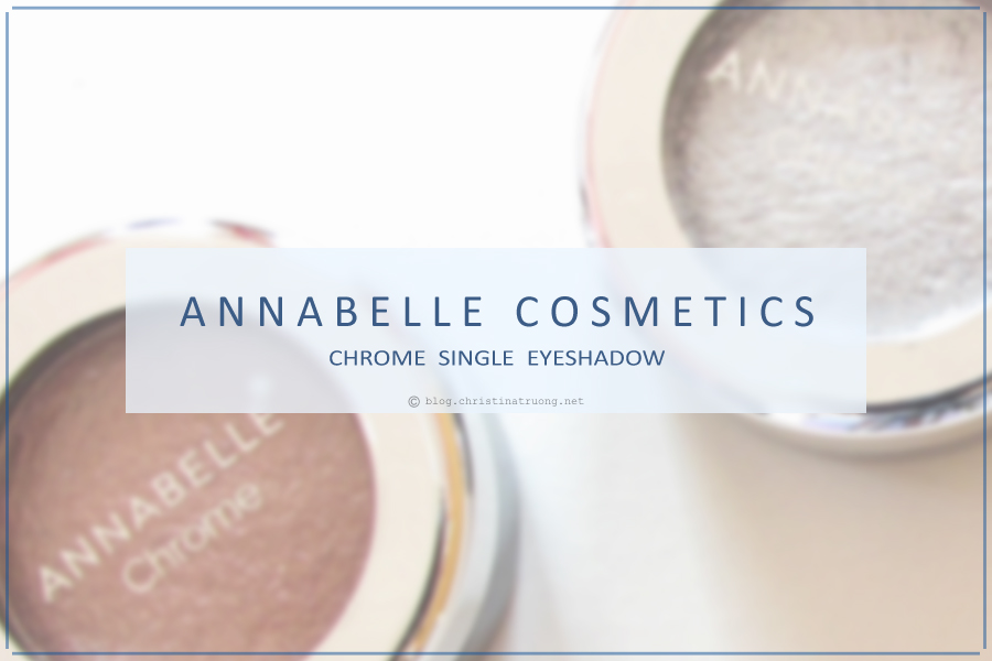 Annabelle Cosmetics Chrome Single Eyeshadow