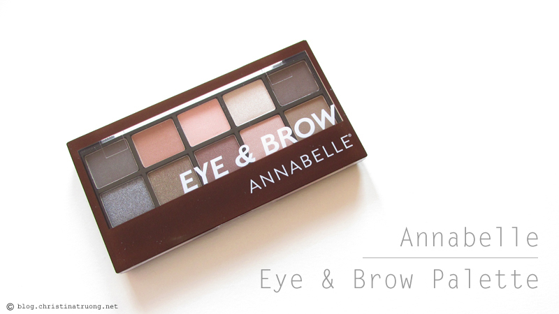 Annabelle Cosmetics Fall 2017 Collection Haul Eye & Brow Palette
