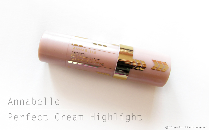 Annabelle Cosmetics Fall 2017 Collection Haul Perfect Cream Highlight Light Champagne