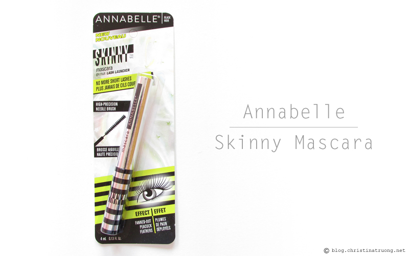 Annabelle Cosmetics Fall 2017 Collection Haul Skinny Mascara by Lash Launcher