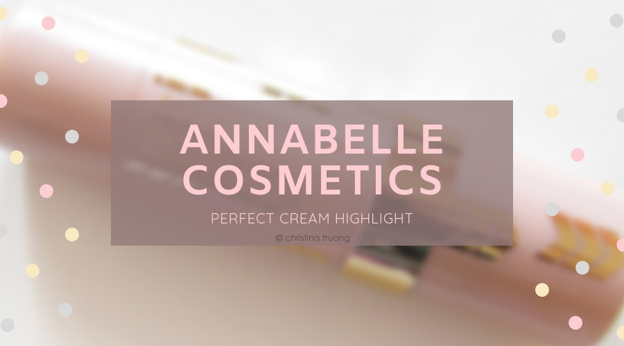 Annabelle Cosmetics Perfect Cream Highlight in Light Champagne Review and Swatch
