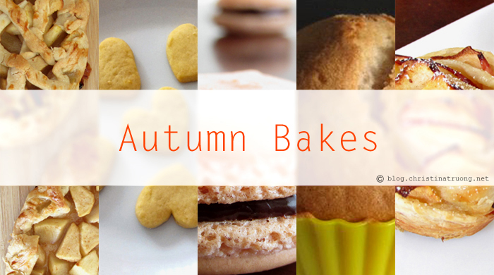 Autumn Fall Baking Season Dessert Apple Pie Cookies Muffins Macaron Recipes