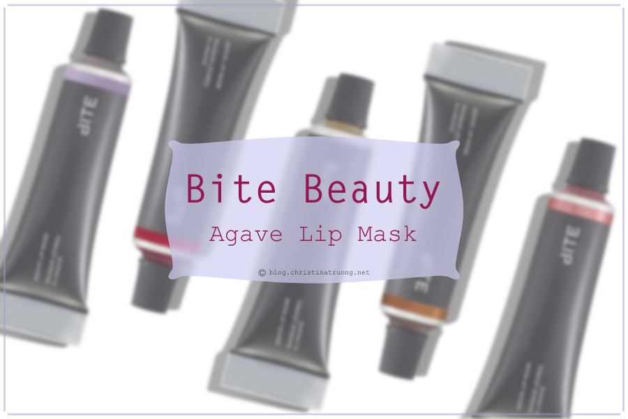 BITE Beauty Agave Lip Mask Review and Swatch