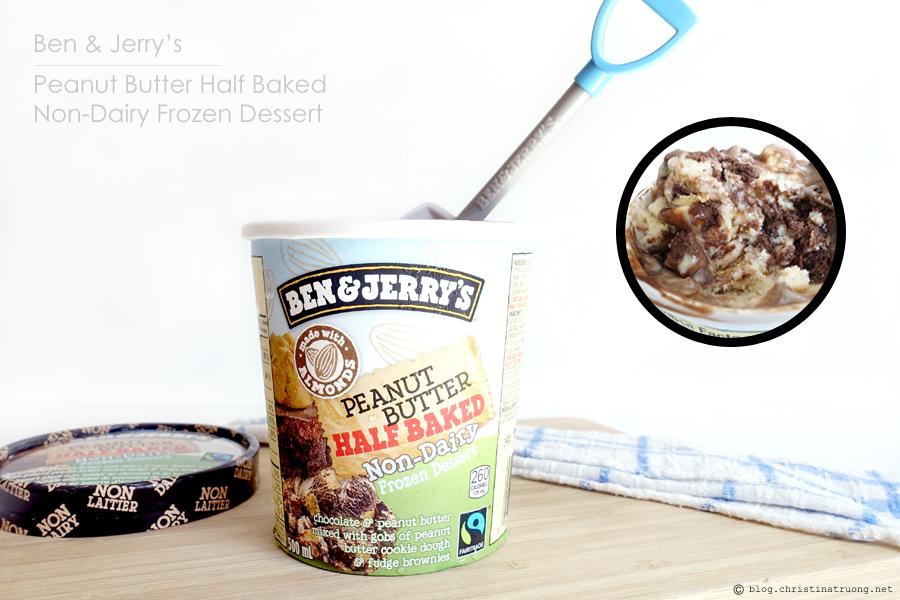 Ben and Jerry's Peanut Butter Half Baked Non-Dairy Frozen Dessert