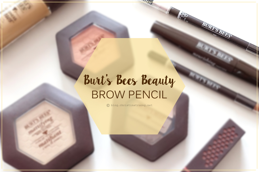 Burt's Bees Beauty Brow Pencil Review Swatch in 1610 Brunette