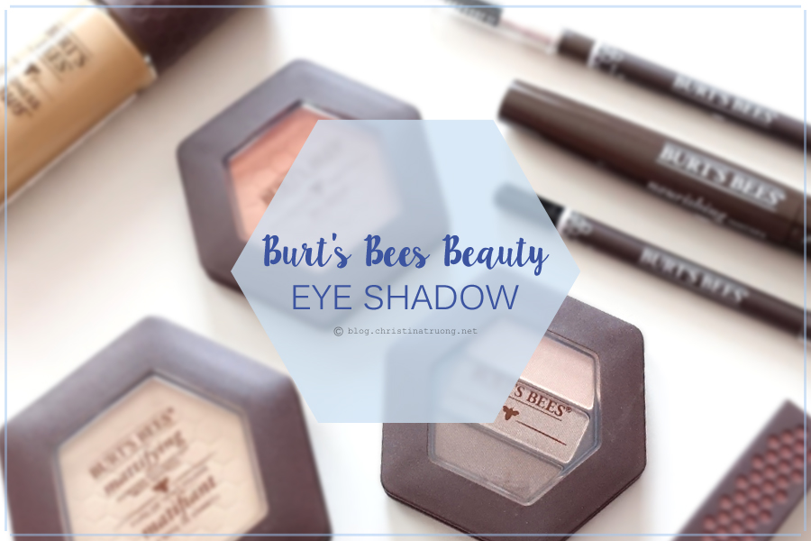 Burt's Bees Beauty Eye Shadow Review and Swatch 1505 Shimmering Nudes.