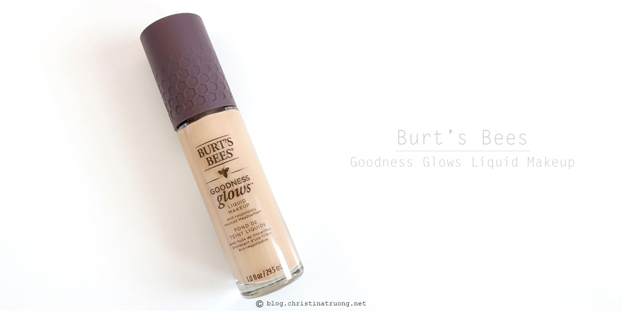 Burt's Bees Beauty Goodness Glows Liquid Makeup