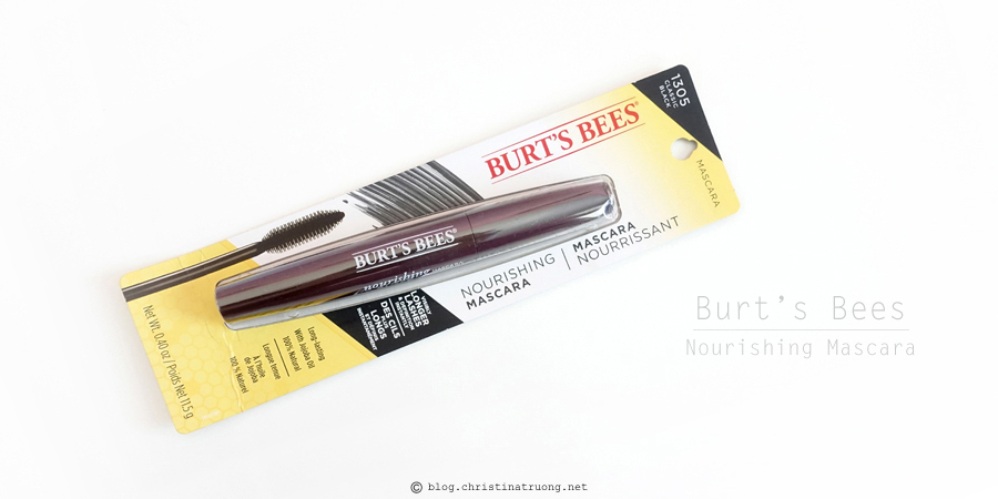 Burt's Bees Beauty Nourishing Mascara
