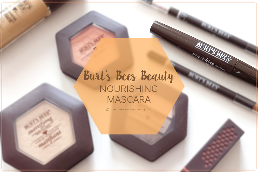 Burt's Bees Beauty Nourishing Mascara Review in 1305 Classic Black