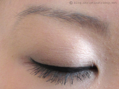 COVERGIRL Intensify Me! Liquid Liner First Impression Swatch Review