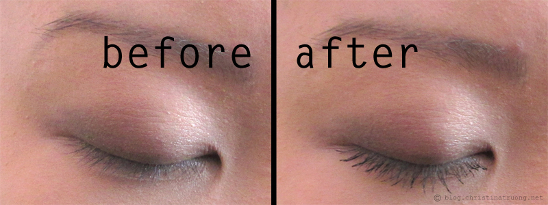 COVERGIRL So Lashy! Mascara Review Before and After