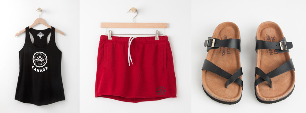 Canada Day Fashion Featuring Roots Canada