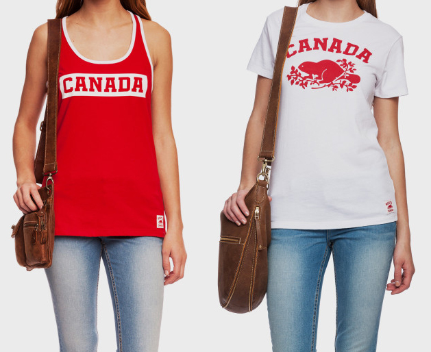 Celebrate Canada Day Fashion Style Roots Canada Tank and T-Shirt