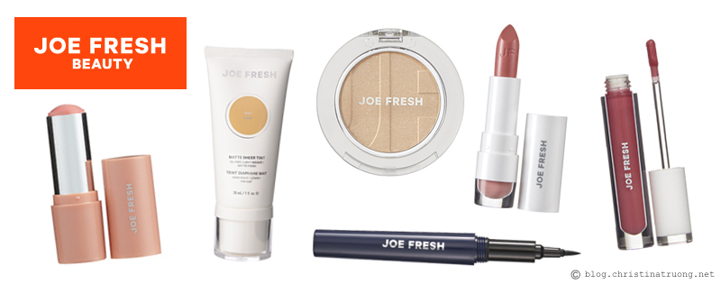 Favourite Five Canadian Beauty Brands Joe Fresh Beauty