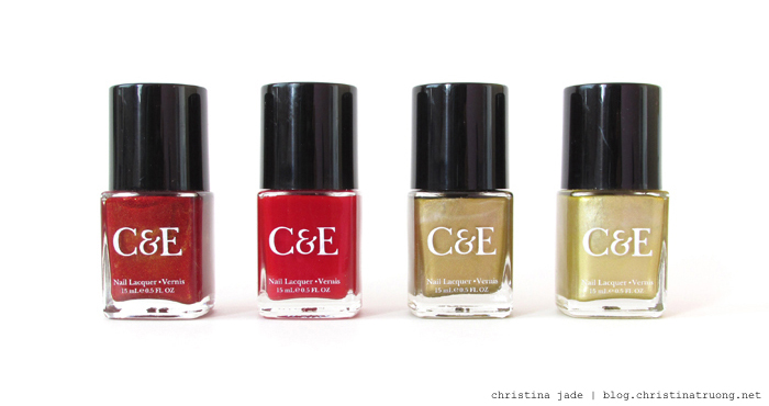 Get Inspired: Chinese New Year Nail Polish Crabtree and Evelyn