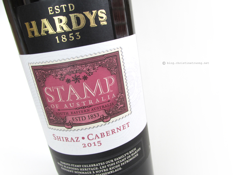 ChickAdvisor ShowCase Toronto 2016 - Event recap and products reviewed. Hardys Stamp Wines Shiraz-Cabernet (red wine)