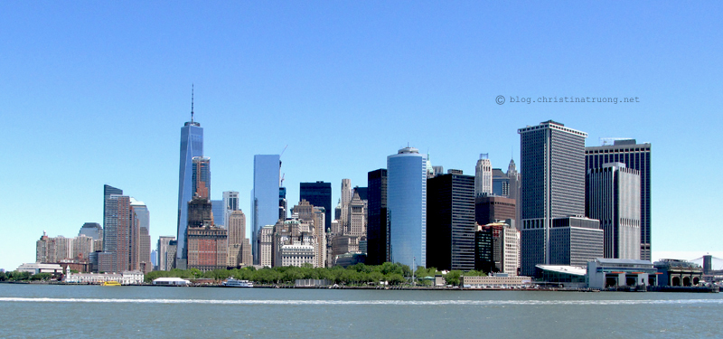 Christina Truong Blog. Touring New York City Photography Manhattan Skyline