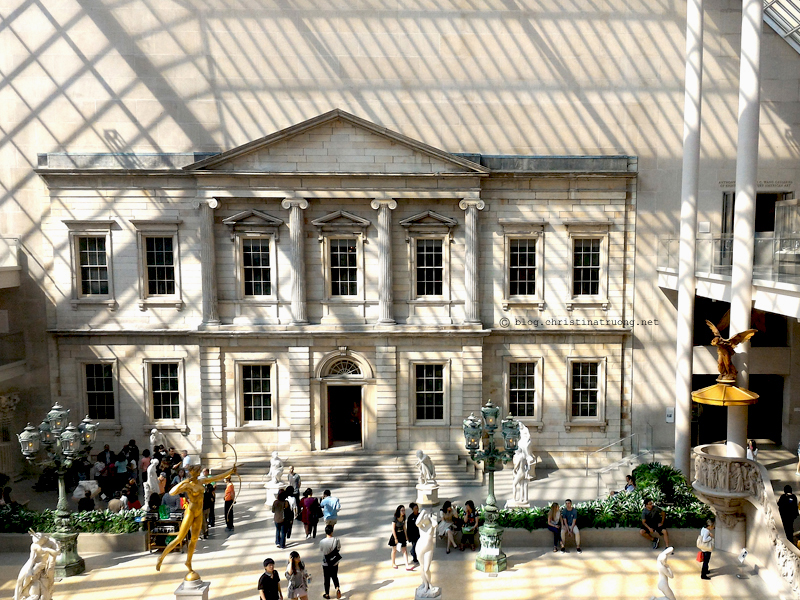 Christina Truong Blog. Touring New York City Photography The Metropolitan Museum of Art MET