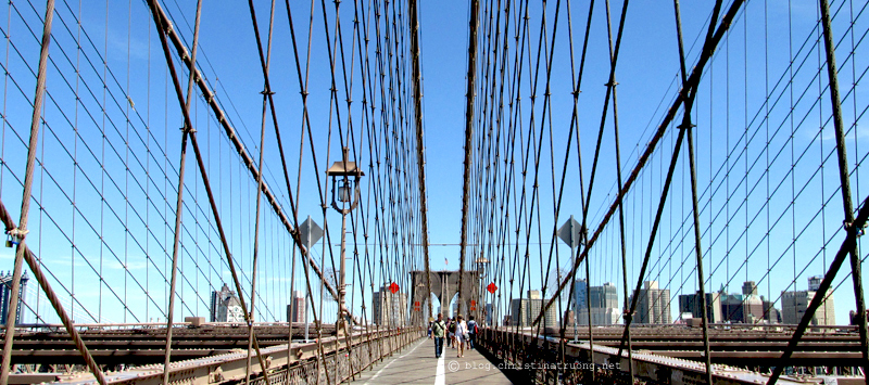 Christina Truong Blog. Touring New York City Photography Brooklyn Bridge
