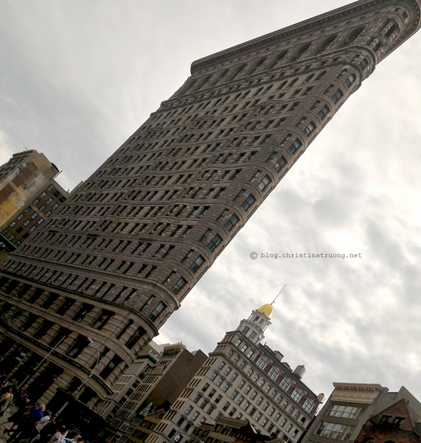 Christina Truong Blog. Touring New York City Photography Flat Iron Building