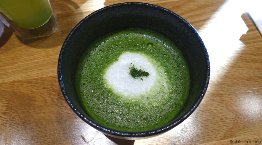 Food From the Lens: TSUJIRI Soba Bar North York Toronto. Christina Truong Photography Japanese Desserts Eats O-Matcha Cappuccino Drink