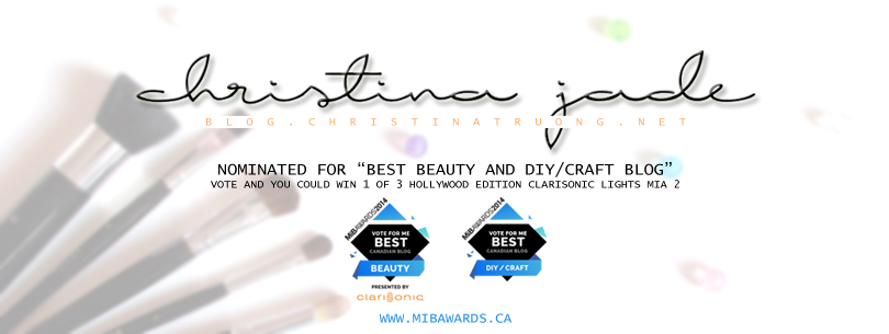 MiB Awards 2014 Nominee Christina Truong for Best Beauty and DIY/Craft Blog