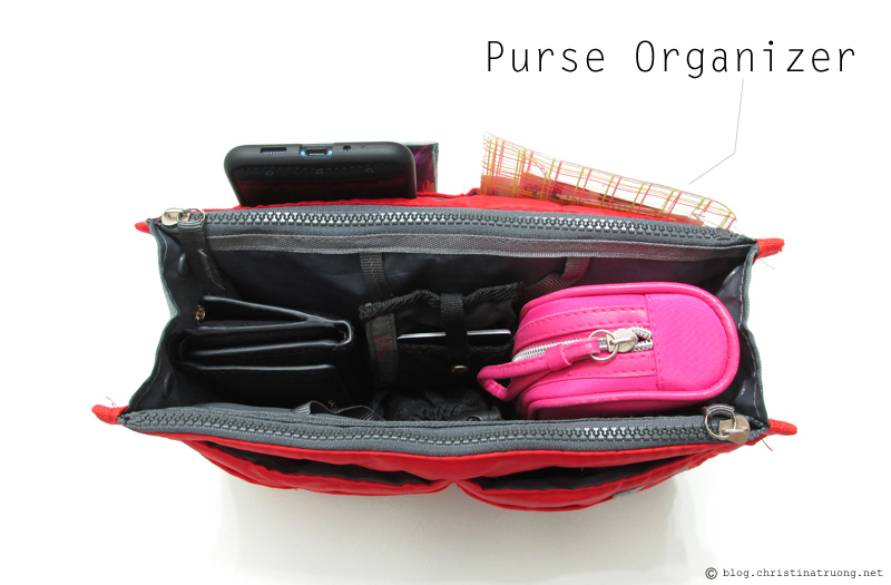 What's In My Bag? Purse Organizer from Dollarama and Amazon
