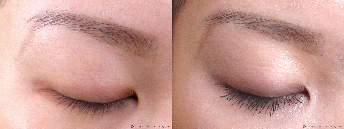 COVERGIRL The Super Sizer Mascara Application Before After Review