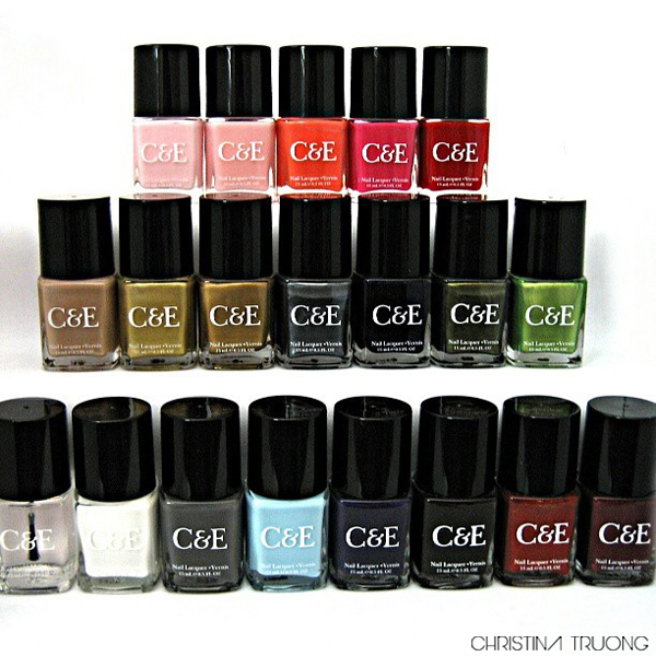Crabtree & Evelyn London Nail Polish Nail Lacquer Collection Review