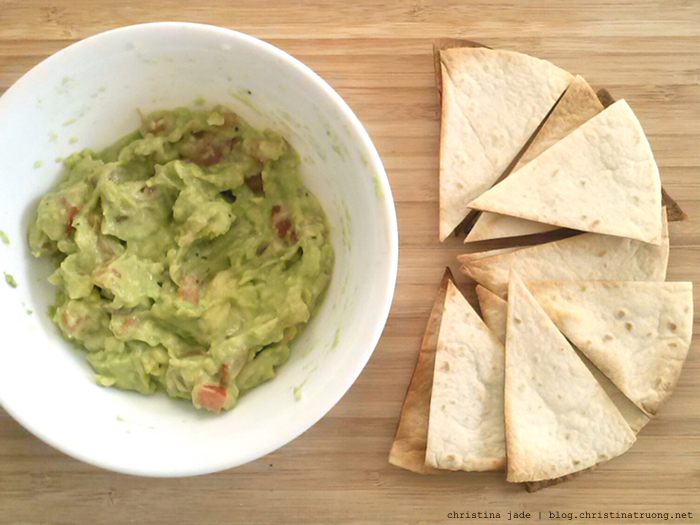 How To Tortilla Something Different Nacho Food recipes Tortilla Chips with Guacamole