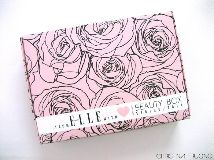 Elle Canada Spring 2014 Beauty Box Unboxing