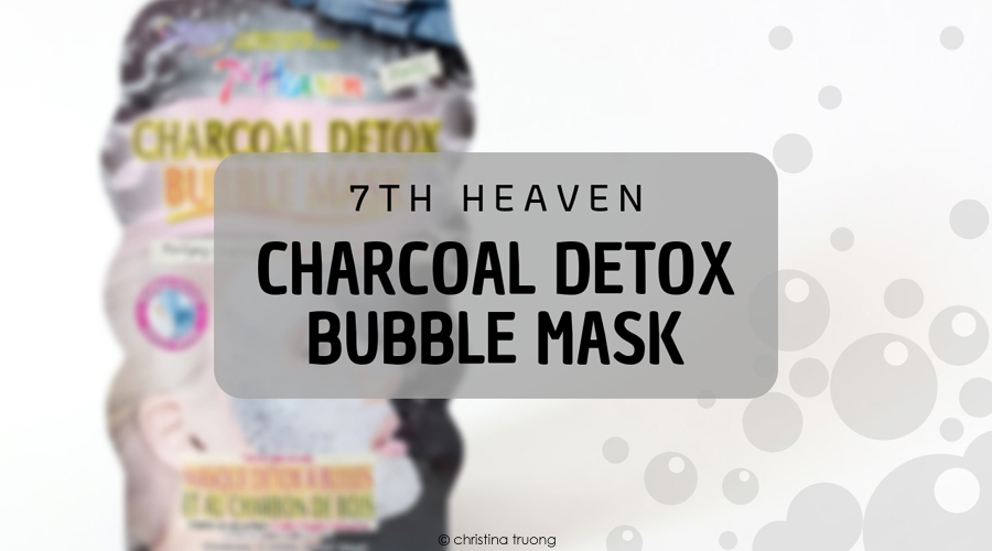 Farleyco Beauty Montagne Jeunesse 7th Heaven Charcoal Detox Bubble Mask Review