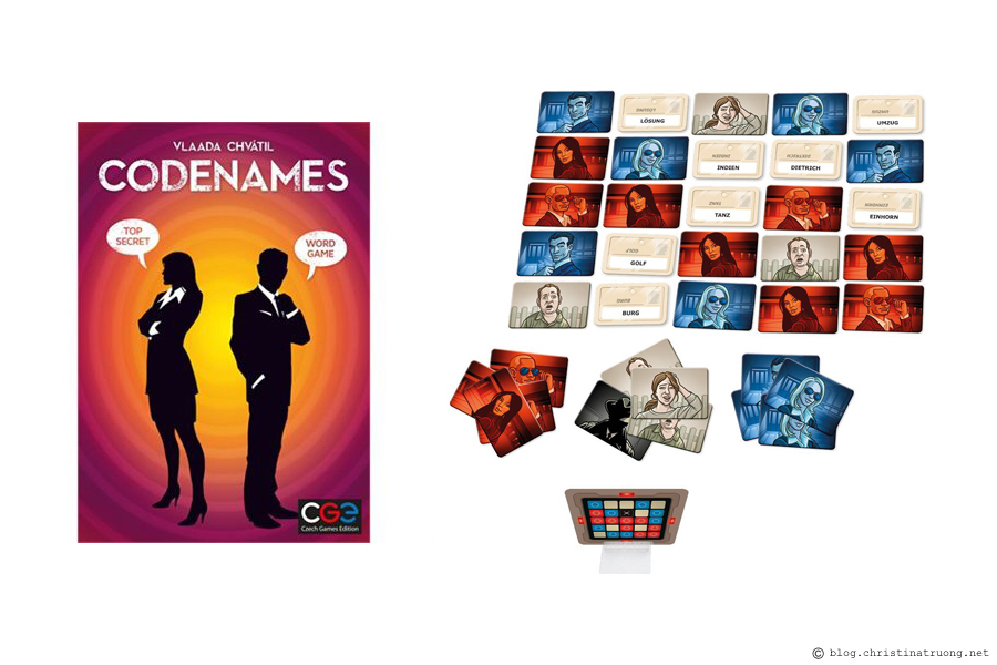 Celebrate Valentine's Day, Lunar New Year, and Family Day Filled with Love featuring my favourites to get you in the spirit of this love-filled week. Together. Czech Games Edition Codenames Party Game