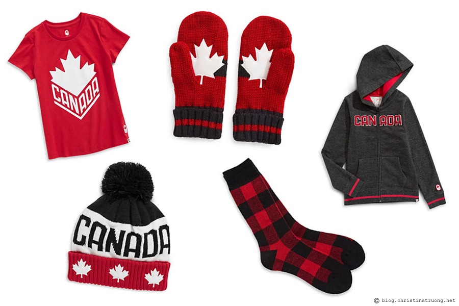 Celebrate Valentine's Day, Lunar New Year, and Family Day Filled with Love featuring my favourites to get you in the spirit of this love-filled week. Together. Hudson's Bay Exclusive Canadian Olympic Team Collection