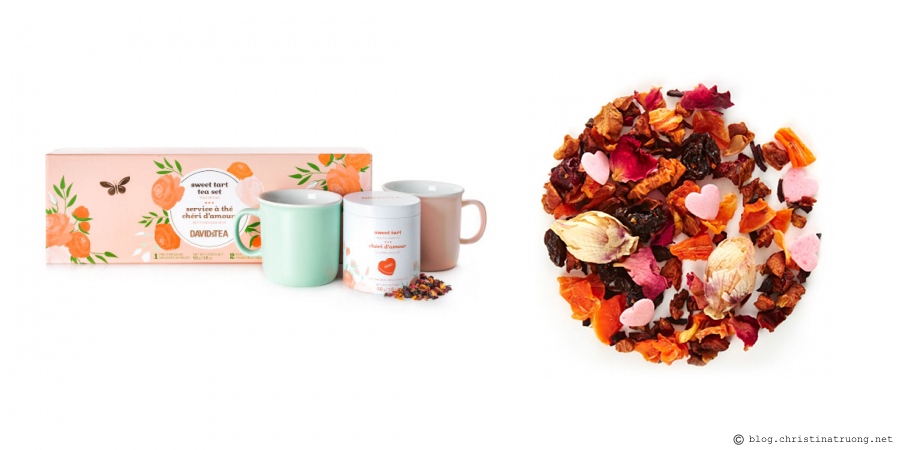 Celebrate Valentine's Day, Lunar New Year, and Family Day Filled with Love featuring my favourites to get you in the spirit of this love-filled week. Treats. David's Tea Sweet Tart Tea Set