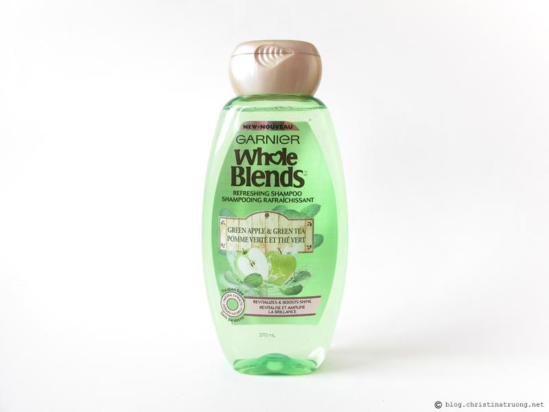 Garnier Whole Blends - Green Apple & Green Tea Refreshing Shampoo Review