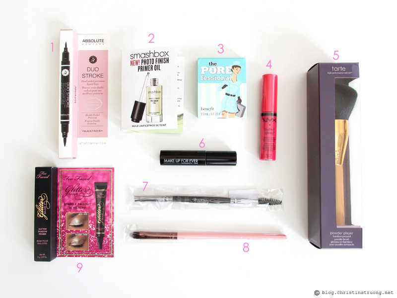 Generation Beauty GenBeauty 2016 Toronto Haul Day 1 Gift Bag