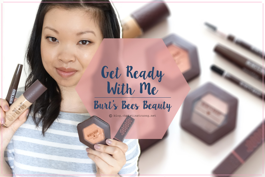 Get Ready With Me Full Face of Makeup featuring Burt's Bees Beauty
