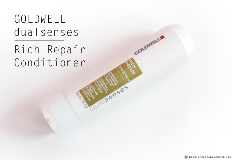 Goldwell dualsenses Rich Repair Shampoo and Conditioner Review