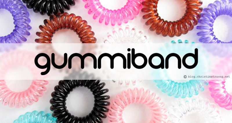GummiBand Hair Cords Hair Ring Accessories Review