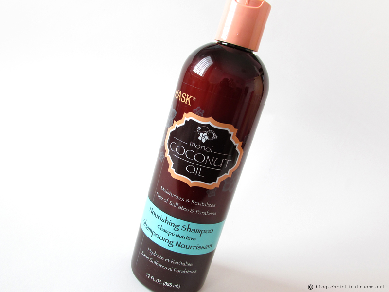 HASK Monoi Coconut Oil Nourishing Hair Care Collection Shampoo Review