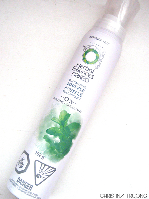 Herbal Essences Naked Volumizing Souffle Review