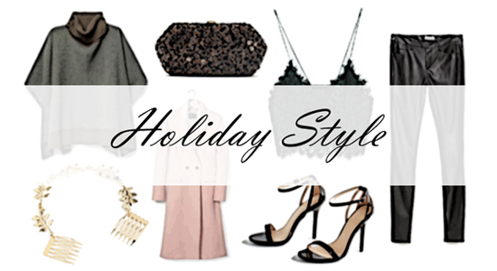 From staying cozy by the fireplace or out to a festive event, be holiday ready with these stylish outfits!
