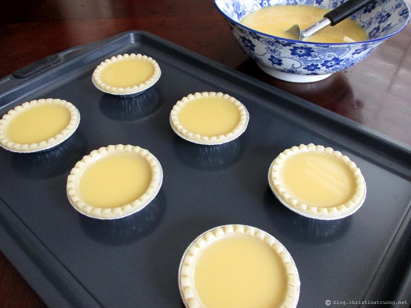 How to Make Homemade Hong Kong Style Egg Tart Dan Tat Filling Recipe
