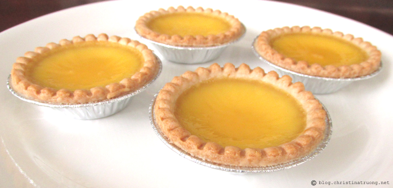 How to Make Homemade Hong Kong Style Egg Tart Dan Tat Recipe